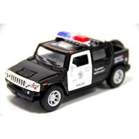 2005 Hummer H2 SUT Polis Arabası (1:40 Metal Çek Bırak Araba)