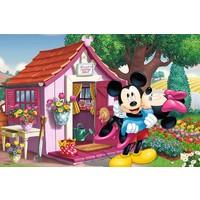 Trefl 60 Parça Puzzle (Mickey ve Minnie Bahçede)