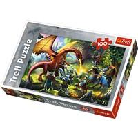 100 Parça Meeting The Dragon Puzzle (Trefl 16281)
