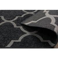 Esse Halı G976A Black Black 80x150 cm