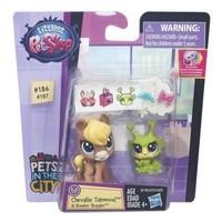 Hasbro Littlest Pet Shop Minişler Chevallie Tanwood 2li Figür