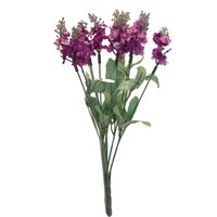 Yapay Çiçek Deposu Pembe Lavanta Demeti