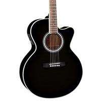 Jay Turser Jta-424Qcet-Bk Elektro Akustik Gitar
