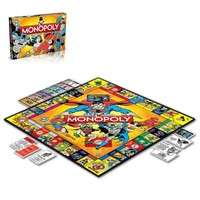 Winning Moves Dc Comics Retro Monopoly (İngilizce)