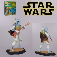 Gentle Giant Star Wars Boba Fett Holiday Special Animated Maquette