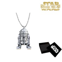 Sd Toys R2-D2 Silver Plated Necklace Kolye