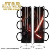 Sd Toys Star Wars Kylo Ren Lightsaber Mugs Set Bardak Seti