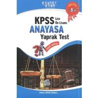 Akıllı Adam KPSS Lise - Ön Lisans Anayasa Yaprak Test