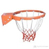 Delta Profesyonel İçi Dolu (Solid) Hidrolik 20 mm Basketbol Çemberi + Basketbol Filesi - DS 9170