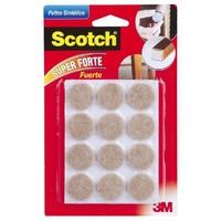 Scotch Keçe Kahverengi Yuvarlak 12li