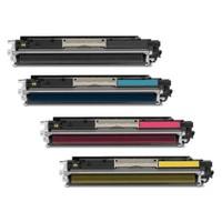Hp Ce310A-Ce313A 4 Renk Muadil Toner Cp1025/M175