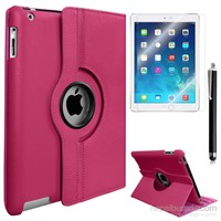 Kılıfland Apple İpad Air 2 Kılıf 360 Standlı +Film+Kalem
