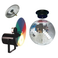 Amerikan Dj Mbs-300Cw Aynalı Küre Işık Sistemi