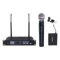 Karsect Kru102/39L Telsiz Mikrofon El+Yaka