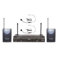 Notel Not 700Yy Telsiz Mikrofon Kablosuz Uhf Band Çift Headset