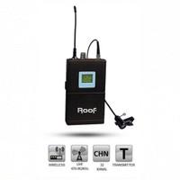 Roof R4000 + R4 Telsiz Yaka Mikrofonu 2'li