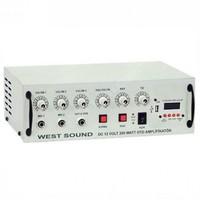 West Sound Tks 200 Usb 12 Volt Amfi 200 Watt