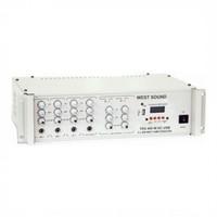 West Sound Tks 600M Usb 12 Volt Amfi 2X300 Watt