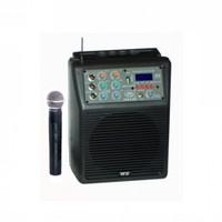 West Sound Tks 6 Dc Portatif Şarjlı Amfi El Mikrofonlu