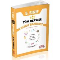 Editör Yayınları 5.Sınıf Vip Tüm Dersler Soru Bankası