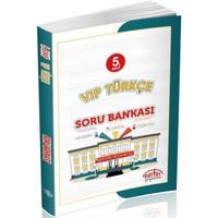 Editör Yayınları 5.Sınıf Vip Türkçe Soru Bankası