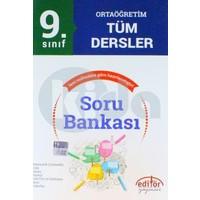 Editör Yayınları 9.Sınıf Ortaöğretim Tüm Dersler Soru Bankası