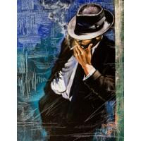 Duvar Tasarım DC 2131 Oil Paint Kanvas Tablo - 50x70 cm