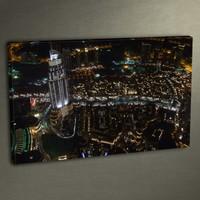 Duvar Tasarım DLC 3009 Ledli Kanvas Tablo - 50x70 cm