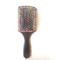 Renkli Uçlu Plastik Saç Fırçası