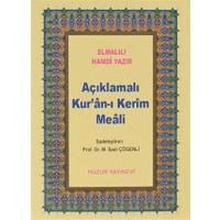 Açıklamalı Kur'an-ı Kerim Meali (Küçük Boy)