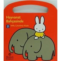 Miffy Çıkartma Kitabı 2: Hayvanat Bahçesinde