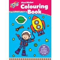 Galt İlk Çıkartmalı Boyama Kitabım