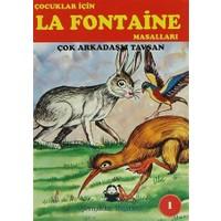 Çocuklar İçin La Fontaine Masalları (10 Kitap Takım)
