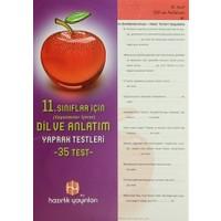 11. Sınıflar İçin (Uygulamalar İçeren) Dil ve Anlatım Yaprak Testeleri (35 Test)