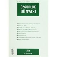 Özgürlük Dünyası Aylık Sosyalist Teori ve Politika Dergisi Sayı : 253 - Mayıs 2014