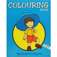 Colouring Book (Blue)