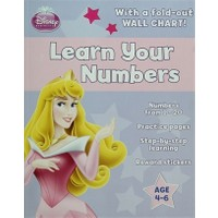 Disney Princess - Learn Your Numbers