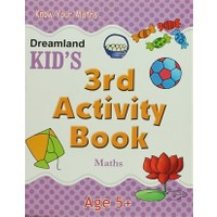 Dreamland Kid's 3 rd Activity Book: Maths (5)