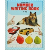 Number Writing Book 1-10