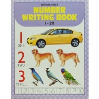 Number Writing Book 1-20