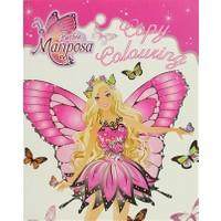 Barbie Mariposa: Copy Colouring