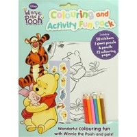 Disney Winnie the Pooh : Colouring and Activitiy Fun Pack