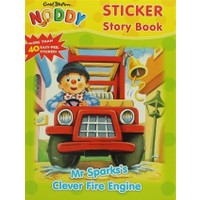 Sticker Story Book: Mr Sparks's Clever Fire Engine