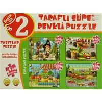 Taşıtlar 4'ü Bir Kutuda Puzzle