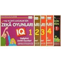 9-12 Yaş ve Üstü Okul Öncesi Çocuklar İçin Zeka Geliştiren Oyunlar (5 Kitap Takım)
