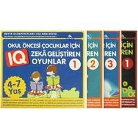 Çocuklar için Zeka Geliştiren Oyunlar (4 Kitap Takım)