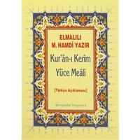 Kur'an-ı Kerim Yüce Meali : Metinsiz Hafız Boy