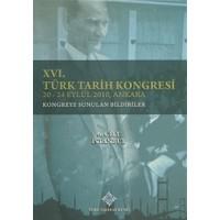 16. Türk Tarih Kongresi 6. Cilt İstanbul