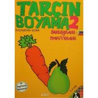Tarçın Boyama 2 : Sebzeler ve Meyveler