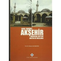 1466 Tarihli Akşehir Mufassal Defteri